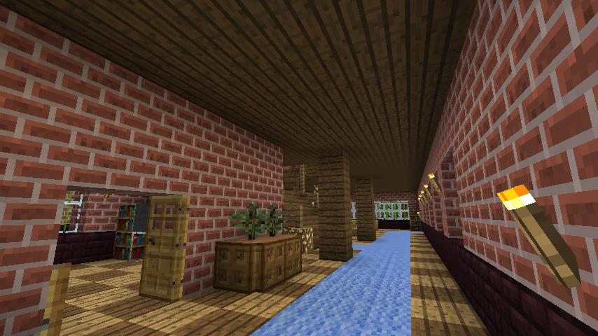 Minecrafterししゃもがマインクラフトでレンガのアパートをリフォームする2