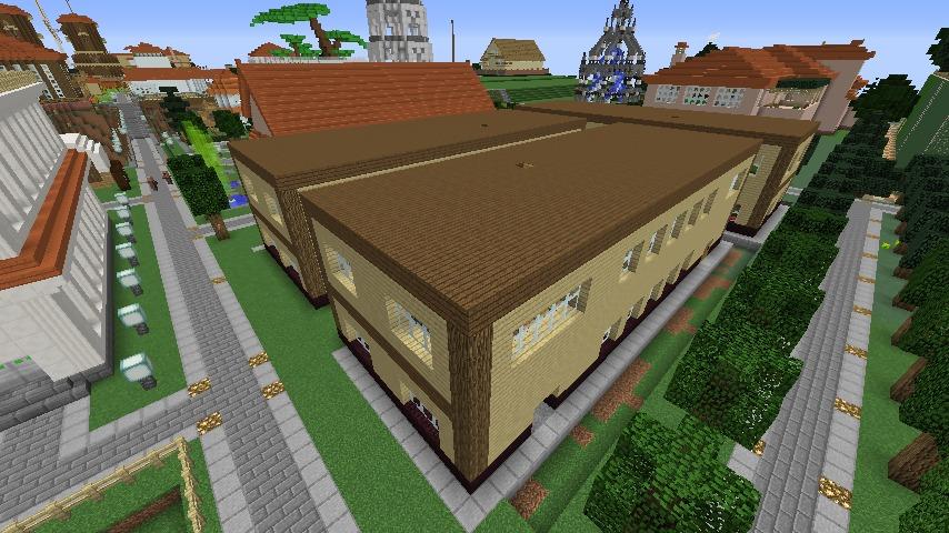 Minecrafterししゃもがマインクラフトでレンガのアパートをリフォームする4