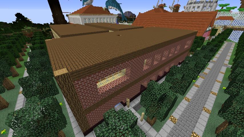 Minecrafterししゃもがマインクラフトでレンガのアパートをリフォームする5