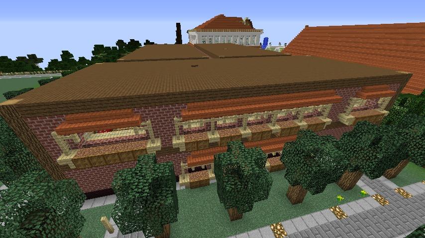 Minecrafterししゃもがマインクラフトでレンガのアパートをリフォームする6