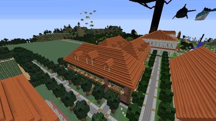 Minecrafterししゃもがマインクラフトでレンガのアパートをリフォームする10