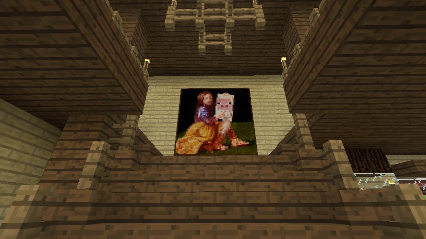 Minecrafterししゃもがマインクラフトでレンガのアパートをリフォームする12