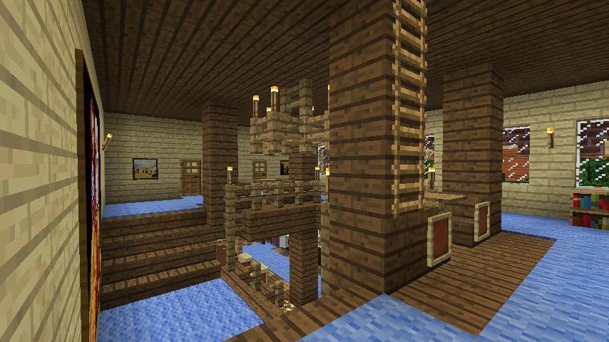 Minecrafterししゃもがマインクラフトでレンガのアパートをリフォームする13