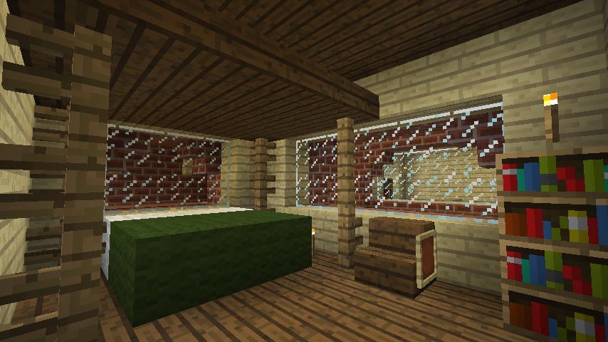 Minecrafterししゃもがマインクラフトでレンガのアパートをリフォームする16