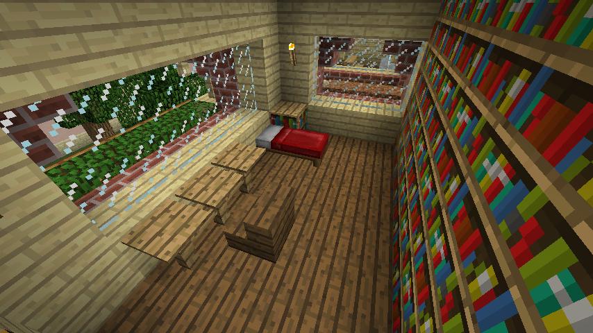 Minecrafterししゃもがマインクラフトでレンガのアパートをリフォームする14