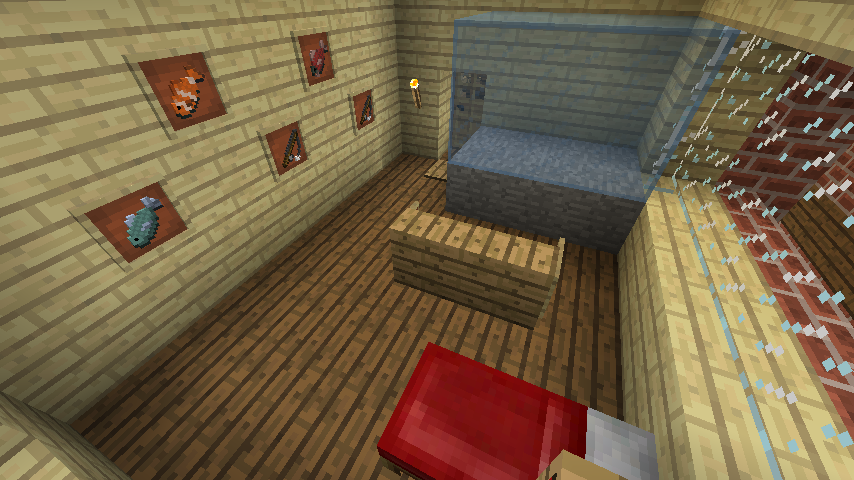 Minecrafterししゃもがマインクラフトでレンガのアパートをリフォームする17