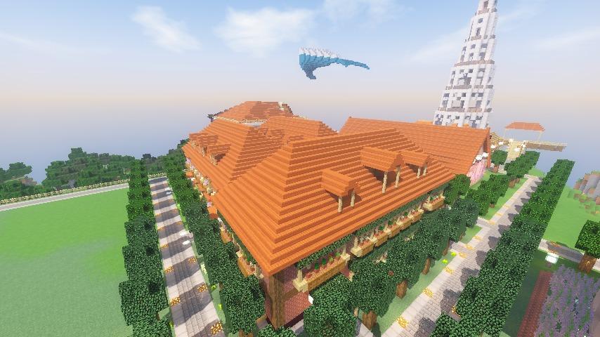 Minecrafterししゃもがマインクラフトでレンガのアパートをリフォームする21