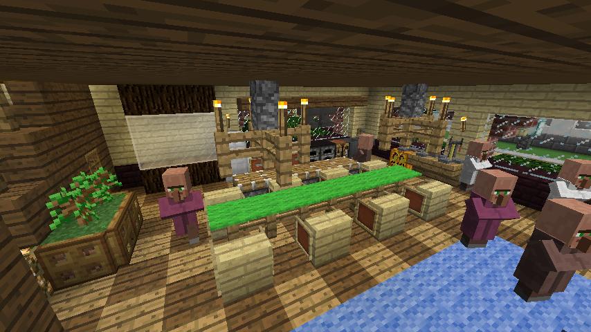 Minecrafterししゃもがマインクラフトでレンガのアパートをリフォームする11