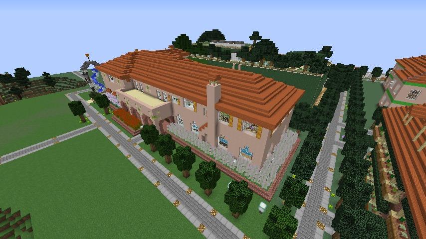 Minecrafterししゃもがマインクラフトでぷっこ村に結婚式ができるホールを作る10