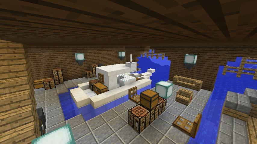 Minecrafterししゃもがマインクラフトでぷっこ村に移住者受け入れのためのデザイナーズログハウスを建てる20