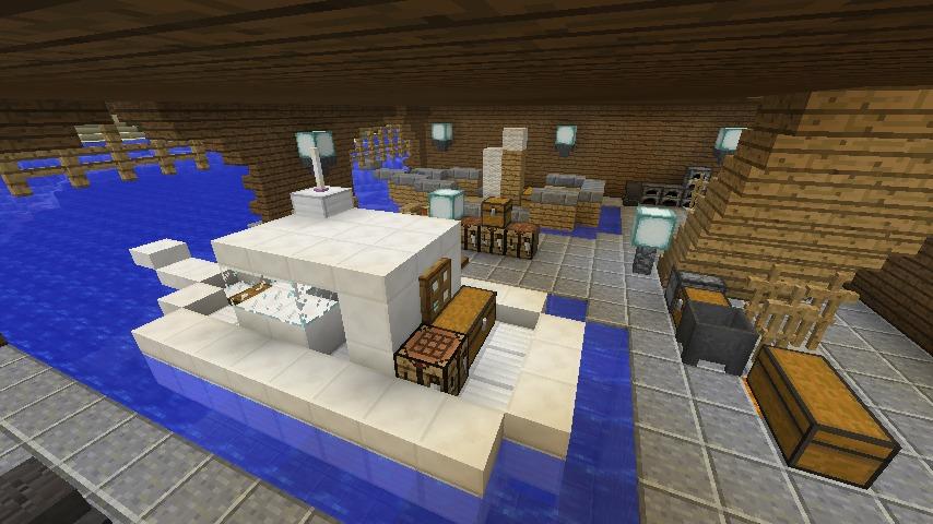 Minecrafterししゃもがマインクラフトでぷっこ村に移住者受け入れのためのデザイナーズログハウスを建てる21