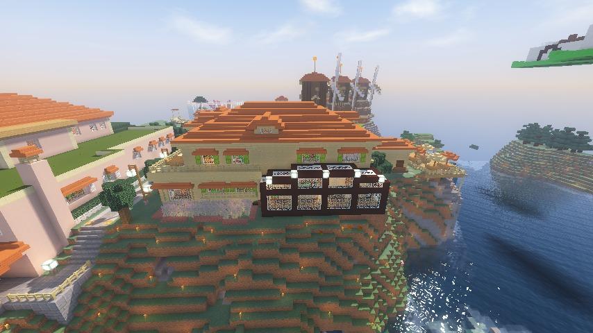 Minecrafterししゃもがマインクラフトで横浜にあるエリスマン邸をぷっこ村に再現して観光振興を図る18