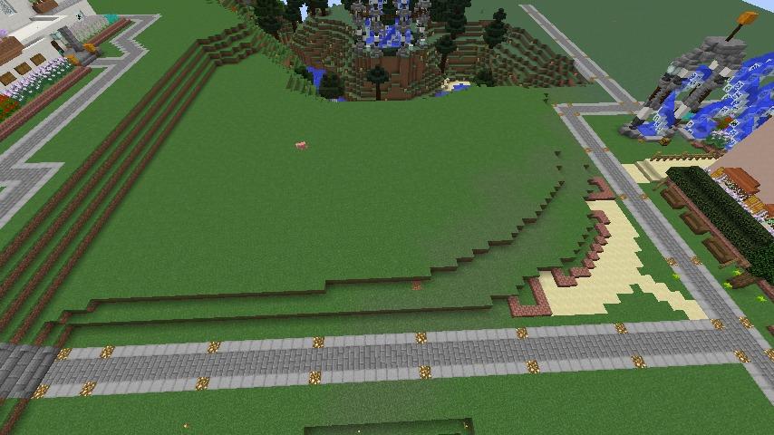 Minecrafterししゃもがマインクラフトでぷっこ村にオルゴールの森にある小さな教会を建てて結婚式場にする1