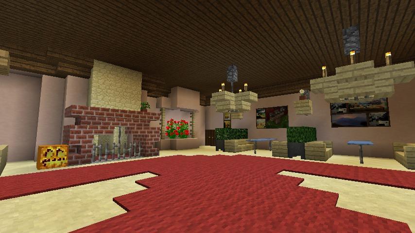Minecrafterししゃもがマインクラフトでぷっこ村にオルゴールの森にある小さな教会を建てて結婚式場にする3