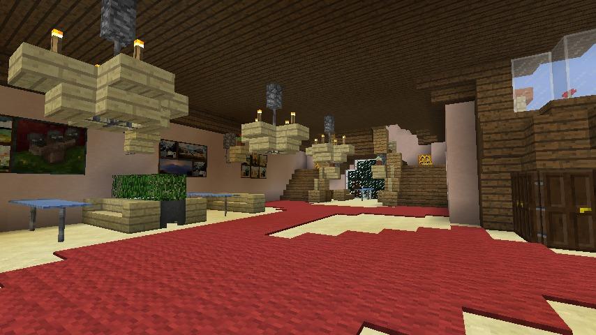 Minecrafterししゃもがマインクラフトでぷっこ村にオルゴールの森にある小さな教会を建てて結婚式場にする7