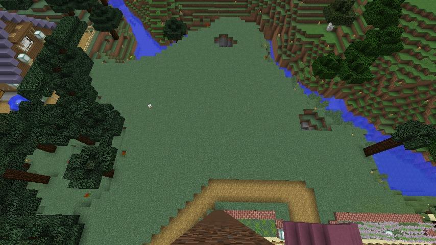 Minecrafterししゃもがマインクラフトでぷっこ村にログハウスを建設して移住者の受け入れを促進する1