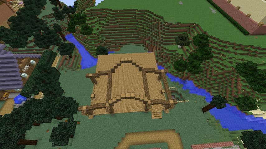 Minecrafterししゃもがマインクラフトでぷっこ村にログハウスを建設して移住者の受け入れを促進する2