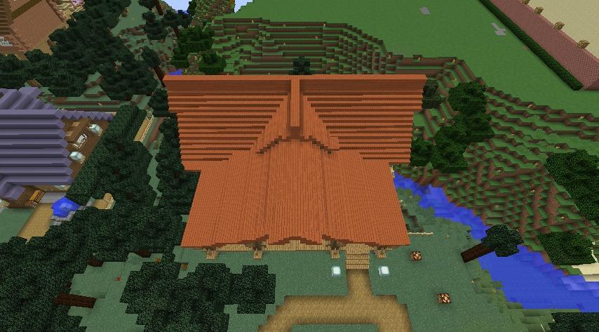Minecrafterししゃもがマインクラフトでぷっこ村にログハウスを建設して移住者の受け入れを促進する10