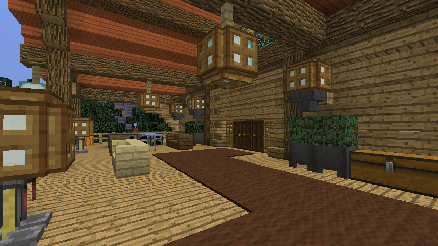 Minecrafterししゃもがマインクラフトでぷっこ村にログハウスを建設して移住者の受け入れを促進する13
