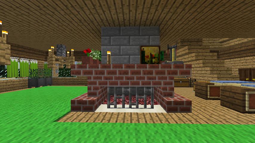 Minecrafterししゃもがマインクラフトでぷっこ村にログハウスを建設して移住者の受け入れを促進する15