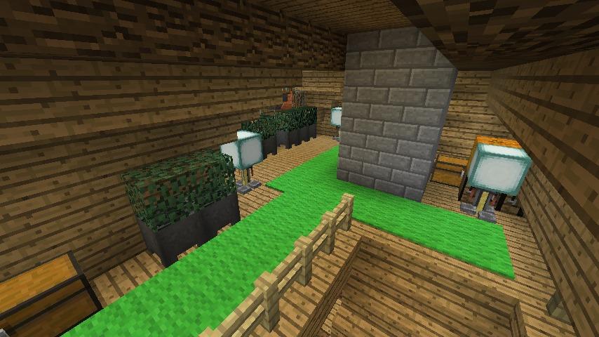 Minecrafterししゃもがマインクラフトでぷっこ村にログハウスを建設して移住者の受け入れを促進する18