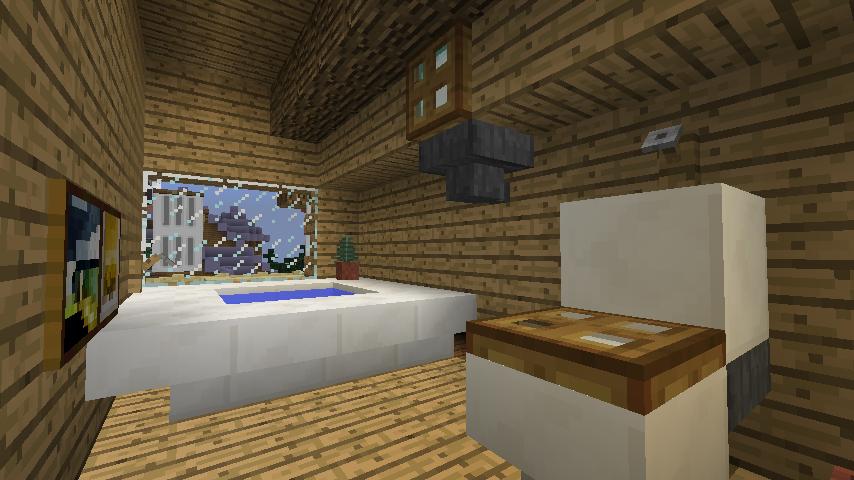 Minecrafterししゃもがマインクラフトでぷっこ村にログハウスを建設して移住者の受け入れを促進する19