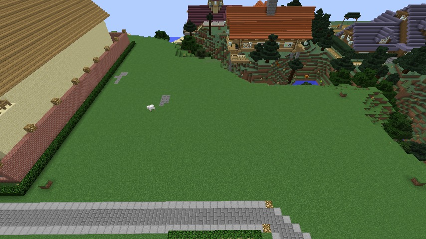 Minecrafterししゃもがマインクラフトでぷっこ村に山手10番館を再現する1
