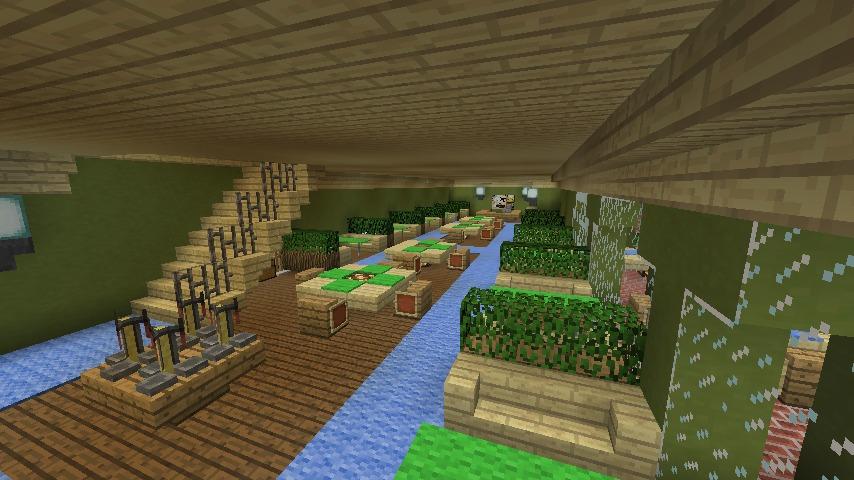 Minecrafterししゃもがマインクラフトでぷっこ村に山手10番館を再現する13