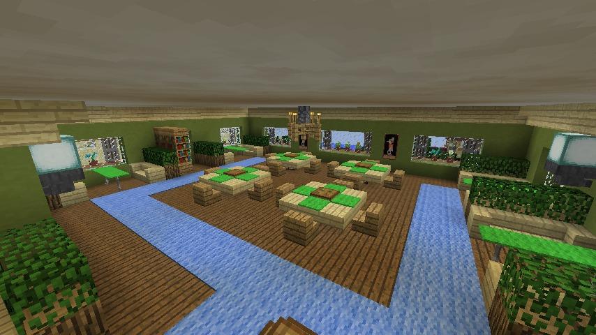 Minecrafterししゃもがマインクラフトでぷっこ村に山手10番館を再現する15