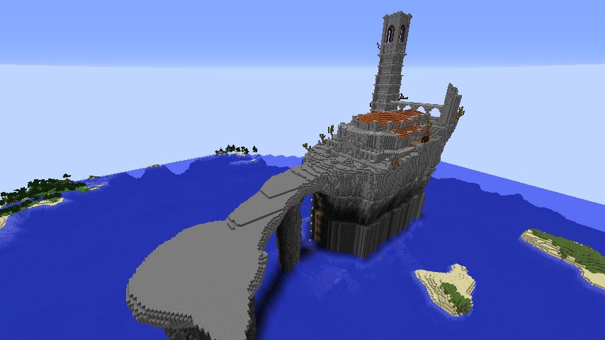 Minecrafterししゃもがマインクラフトでぷっこ村に火継ぎの祭祀場をつくってみた1