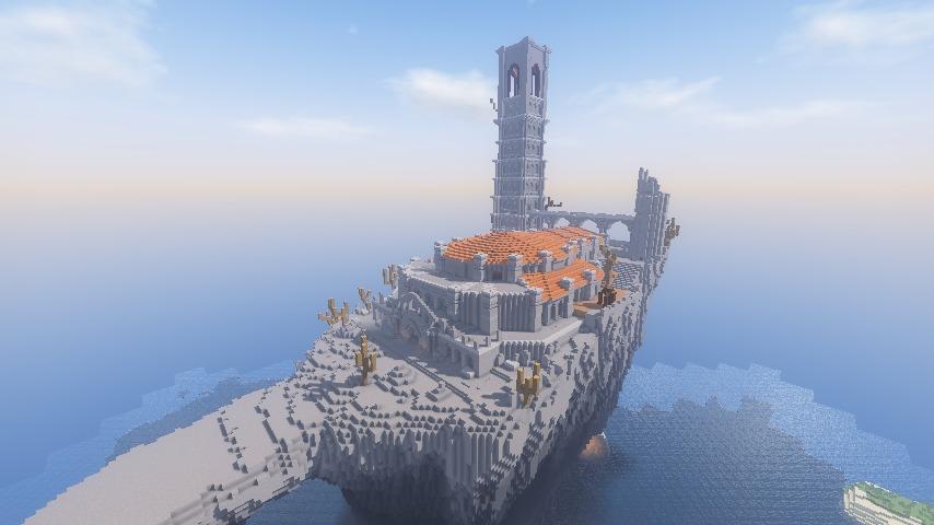 Minecrafterししゃもがマインクラフトでぷっこ村に火継ぎの祭祀場をつくってみた4