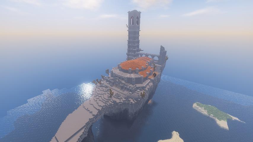 Minecrafterししゃもがマインクラフトでぷっこ村に火継ぎの祭祀場をつくってみた7