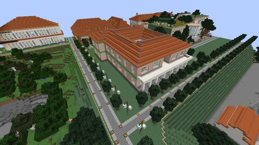 Minecrafterししゃもがマインクラフトでぷっこ村に山手234番館を再現してアパートとして貸し出す4