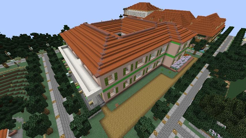 Minecrafterししゃもがマインクラフトでぷっこ村に山手234番館を再現してアパートとして貸し出す5