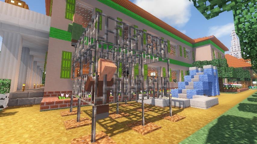 Minecrafterししゃもがマインクラフトでぷっこ村に山手234番館を再現してアパートとして貸し出す20