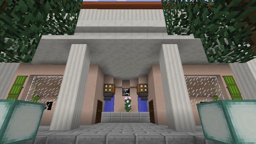 Minecrafterししゃもがマインクラフトでぷっこ村に山手234番館を再現してアパートとして貸し出す10