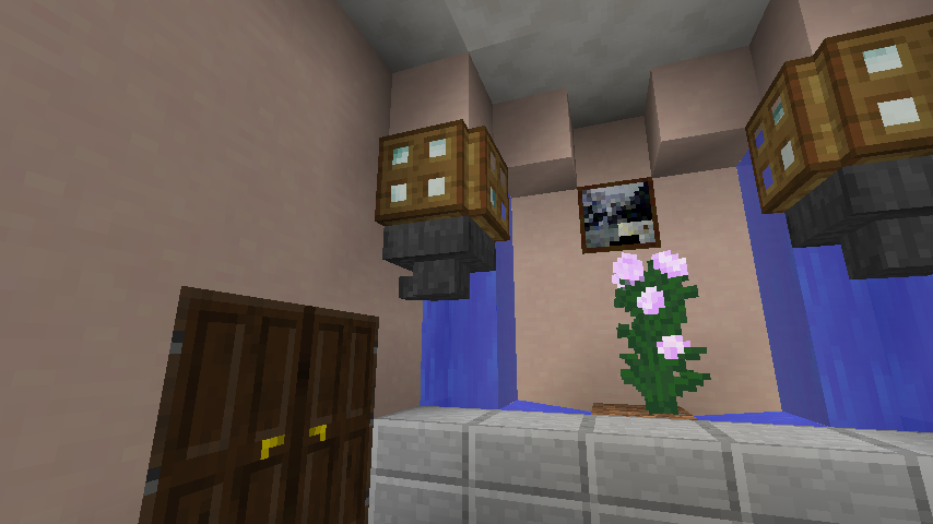 Minecrafterししゃもがマインクラフトでぷっこ村に山手234番館を再現してアパートとして貸し出す11