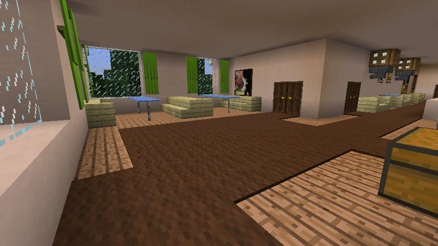 Minecrafterししゃもがマインクラフトでぷっこ村に山手234番館を再現してアパートとして貸し出す12
