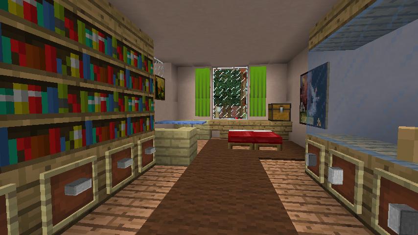 Minecrafterししゃもがマインクラフトでぷっこ村に山手234番館を再現してアパートとして貸し出す16