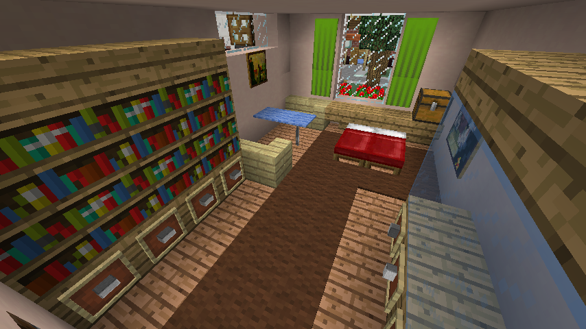 Minecrafterししゃもがマインクラフトでぷっこ村に山手234番館を再現してアパートとして貸し出す17