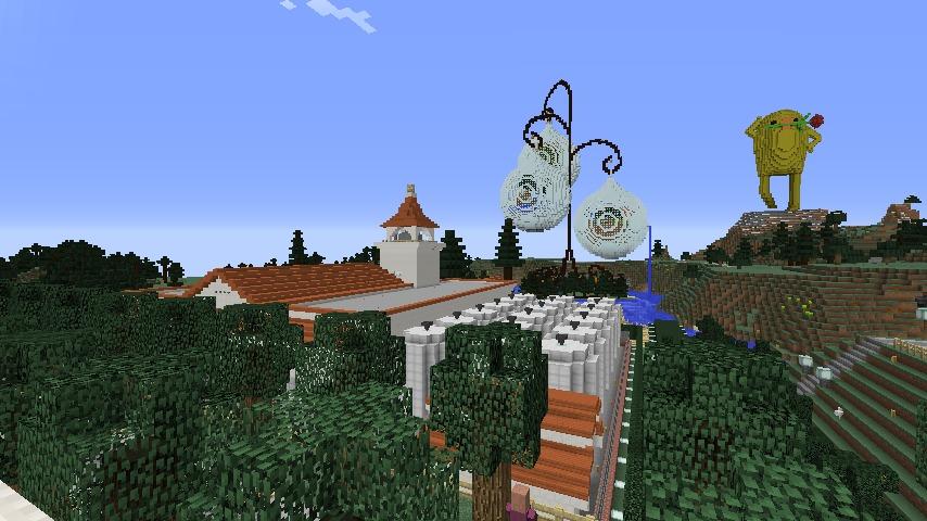 Minecrafterししゃもがマインクラフトでぷっこ村に山手234番館を再現してアパートとして貸し出す18