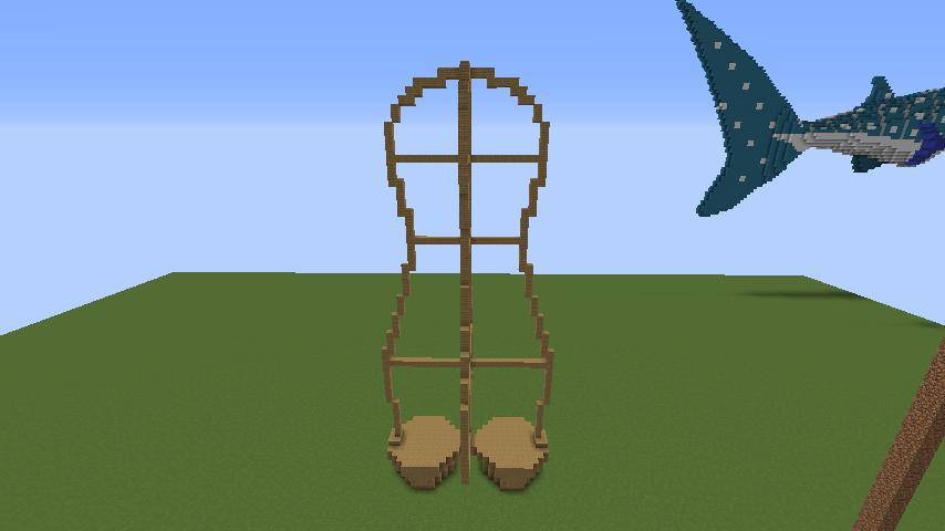 ついでに木彫りのクマさんも作る2