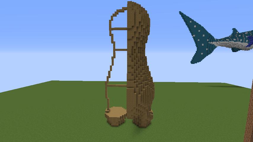 ついでに木彫りのクマさんも作る3