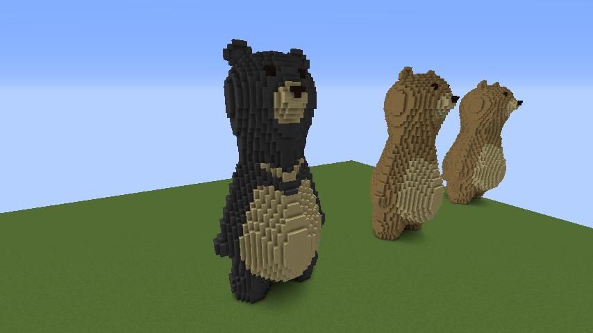 ついでに木彫りのクマさんも作る5