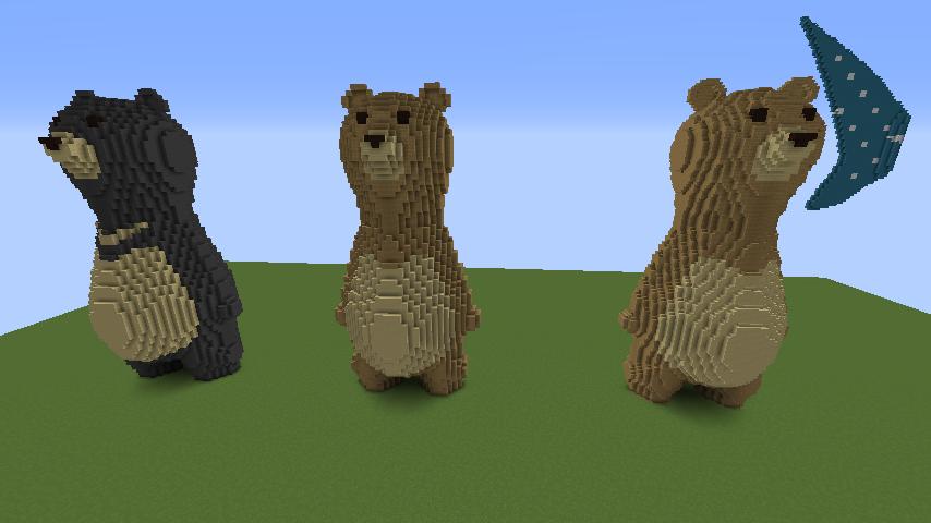 ついでに木彫りのクマさんも作る7