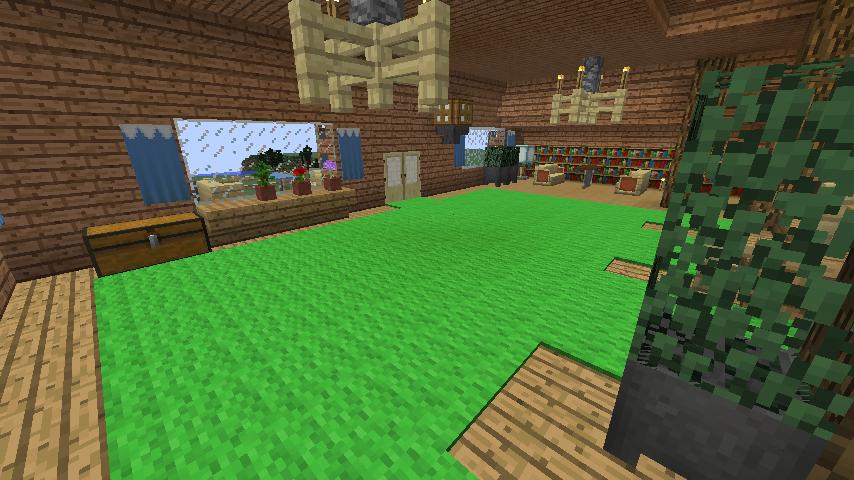 Minecrafterししゃもがマインクラフトでぷっこ村に移住者受け入れ用のログハウス5号を建設する18