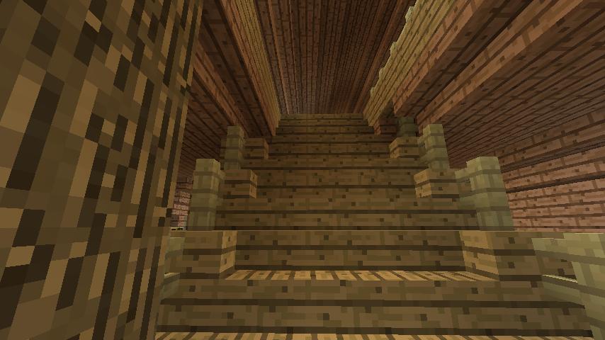 Minecrafterししゃもがマインクラフトでぷっこ村に移住者受け入れ用のログハウス5号を建設する20
