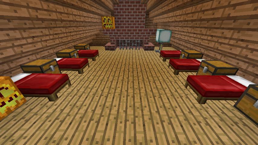Minecrafterししゃもがマインクラフトでぷっこ村に移住者受け入れ用のログハウス5号を建設する22