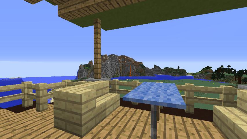 Minecrafterししゃもがマインクラフトでぷっこ村に移住者受け入れ用のログハウス5号を建設する24
