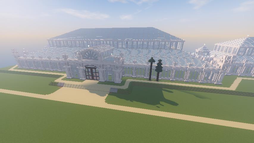 Minecrafterししゃもがマインクラフトでぷっこ村にテンペレートハウスを作る1
